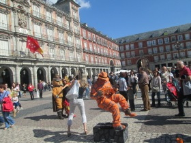 Street performers - Madrid